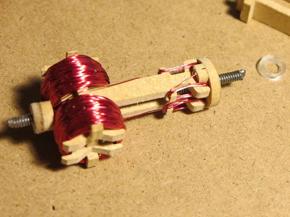 Inventorartist diy electric motor assembly for How to make a electric motor