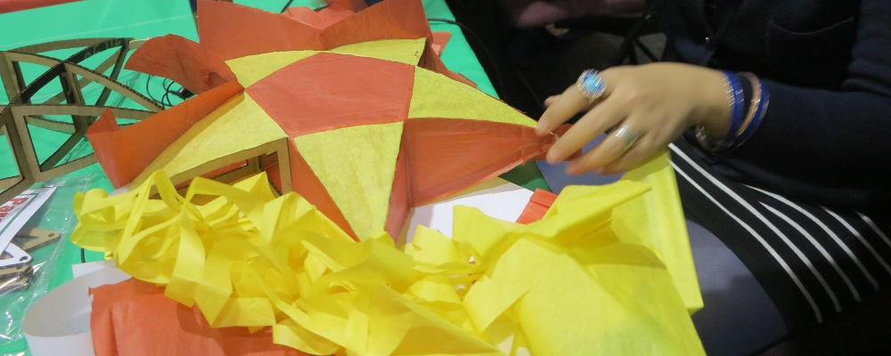 Make a Christmas Parol Lantern