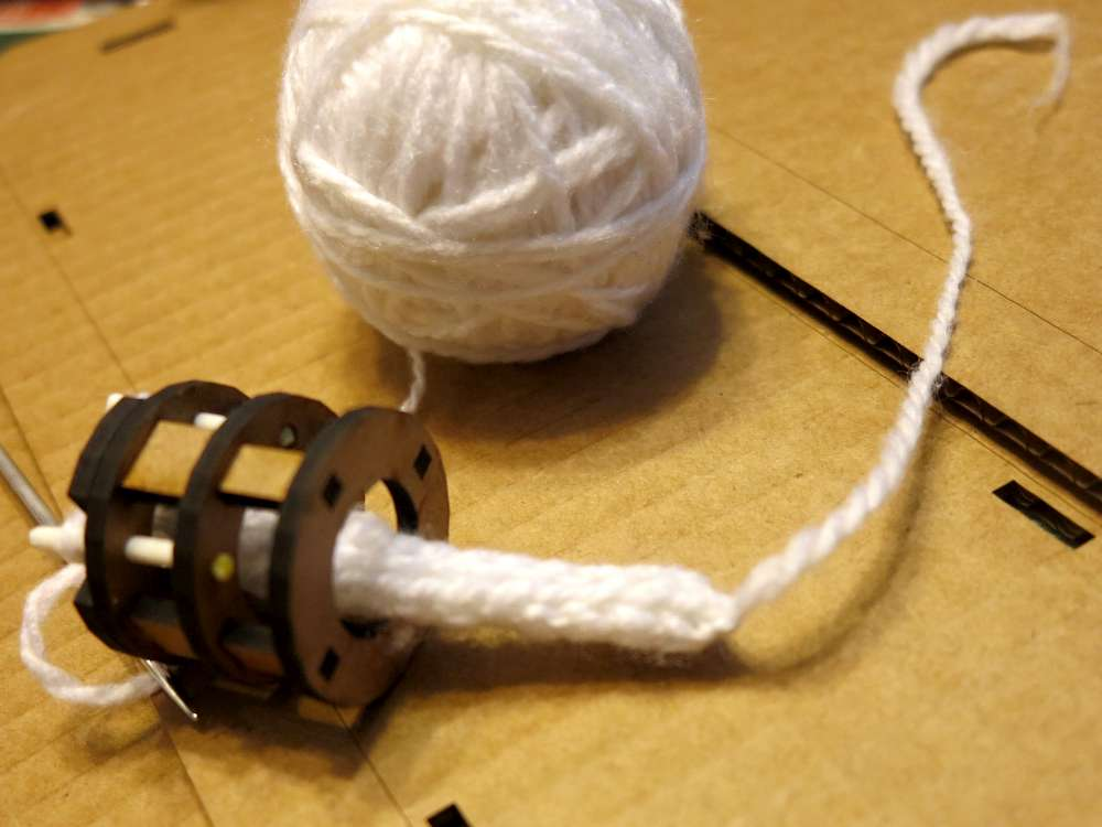 Spool Knitting With Wire : Inventorartist spool knitting