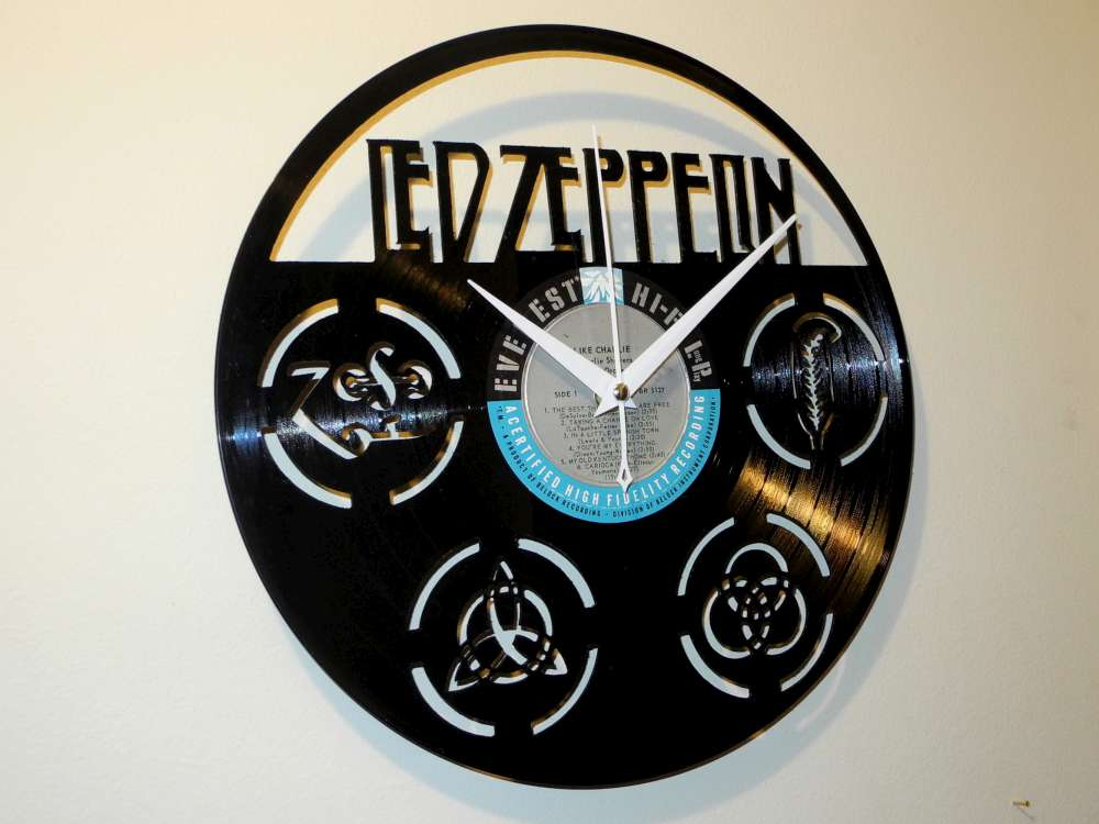Led Zeppelin Record Clock