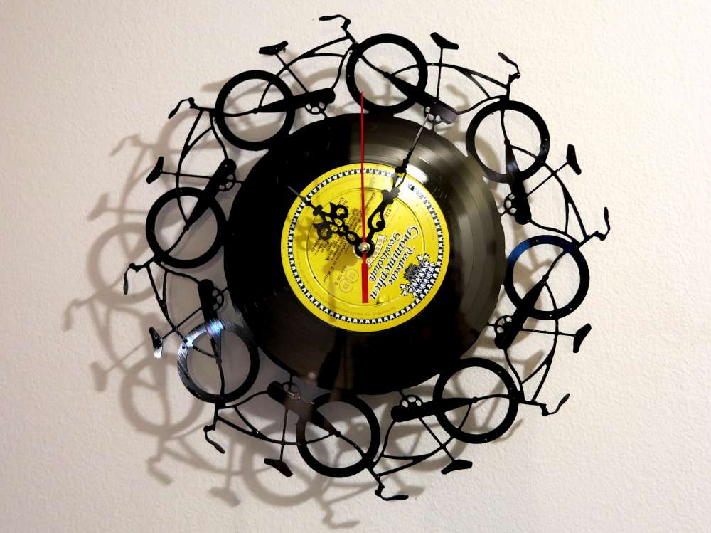 Bicycle Record Clock