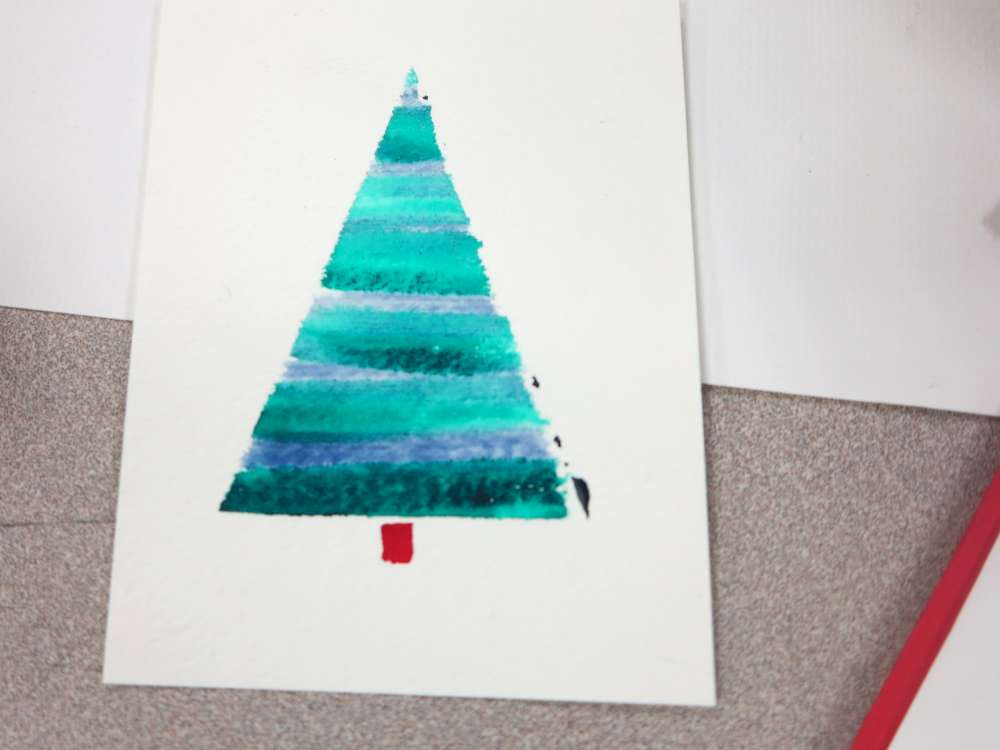 inventorArtist » Watercolor Christmas Cards