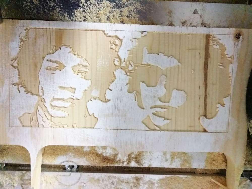Inventorartist 187 Pallet Wood Art